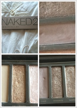 On my eyes I use the NAKED 2 and the colours I use are HALF BAKED,TEASE and SNAKEBITE