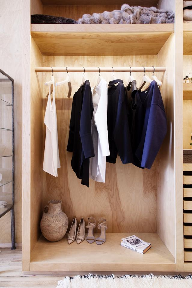 Put your clothes away. Hang them in a closet/wardrobe, do not just throw them onto your bed!