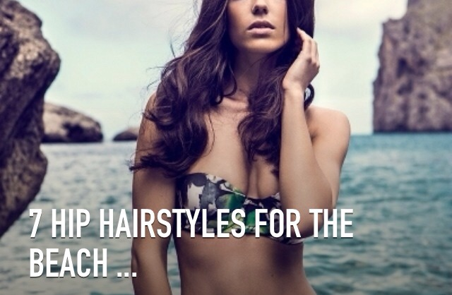 When the temperature rises, there are hip hairstyles for the beach you can try wearing. Instead of putting your hair into a simple bun or ponytail like everyone else around you, you can test out something new. You don't have to be confined to a certain set of styles, due to your location. There are