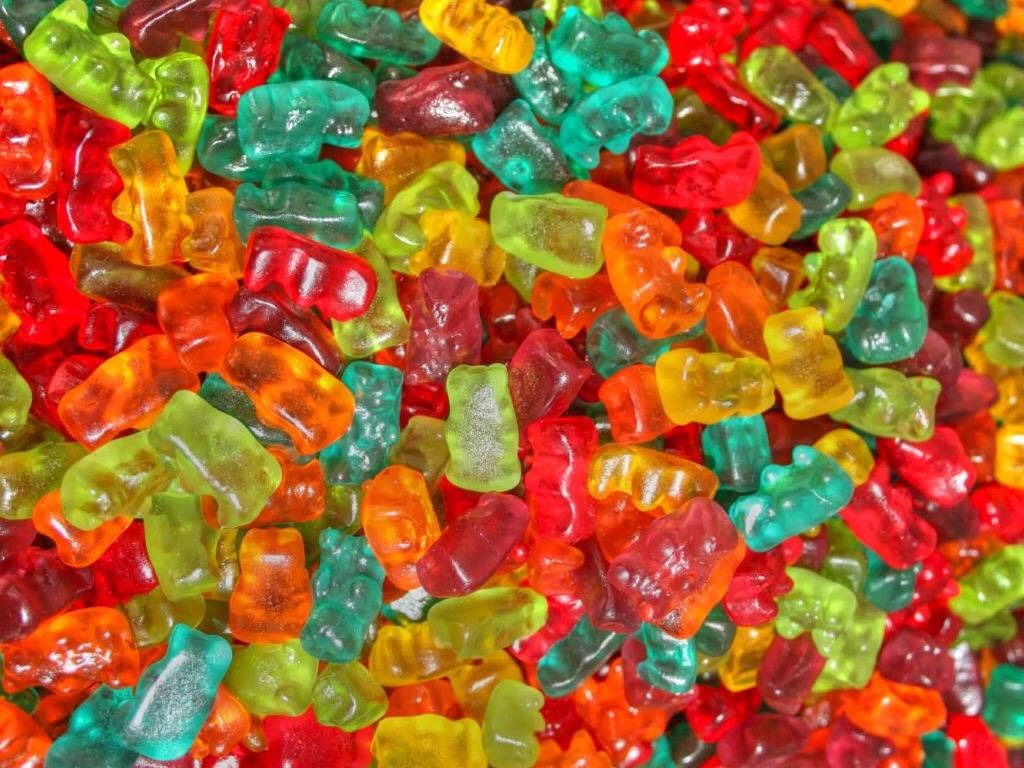 First, you need gummy bears