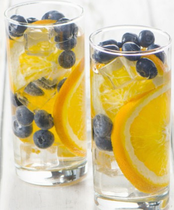 Blueberries and oranges go together like a horse and carriage