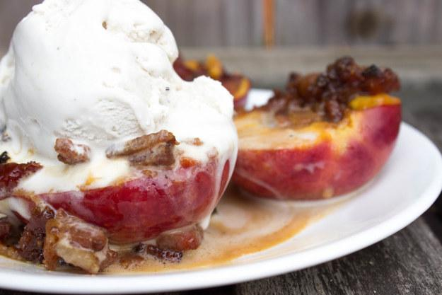 20. Caramelized Nectarines With Bacon  https://spoonuniversity.com/cook/caramelized-nectarines-bacon/?utm_source=buzzfeed&utm_medium=referral&utm_campaign=content-partnerships