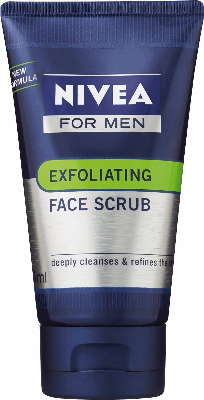 And (for men) Exfoliating Face Scrub