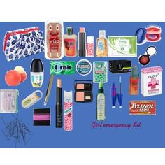 Us girls always need a emergency bag to keep in there locker or book bag
