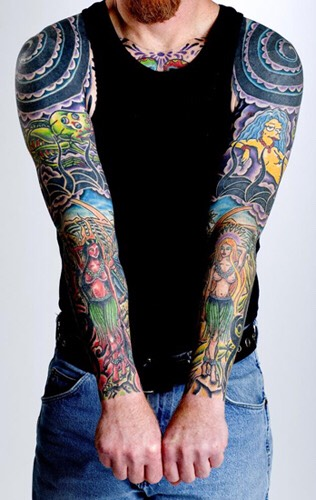 2️⃣0️⃣ Badass Sleeve Tattoo Ideas🎨 By Mike Malave