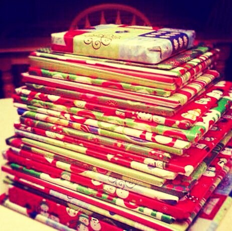 Buy 25 books, wrap them all up in wrapping paper to make then look like gifts . Starting on Dec 1st, each night open one book and read it while snuggled up with the kids or the whole family ! (: all adding up to Christmas Day !