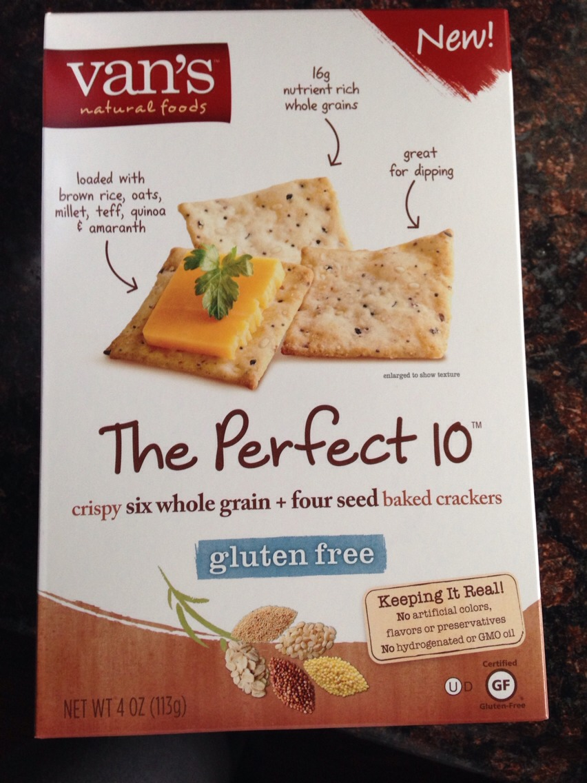 Goes great with gluten free crackers!!!
