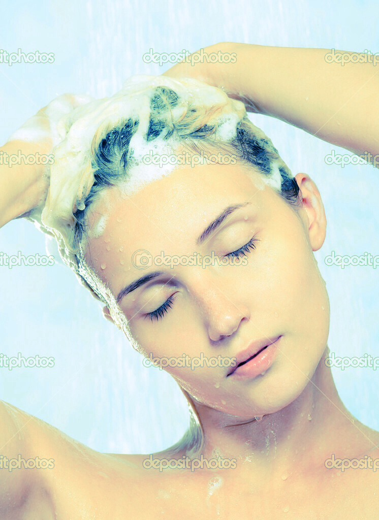 Now put the shampoo in your hair where ever you have hair dye ( DO NOT WASH THE SHAMPOO OUT YET!!!) keep in hair for about 10 minuets then wash out. After washing out you will be able to put conditioner in.