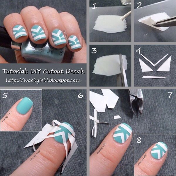 Cutouts on nails are akin to spectacular art!