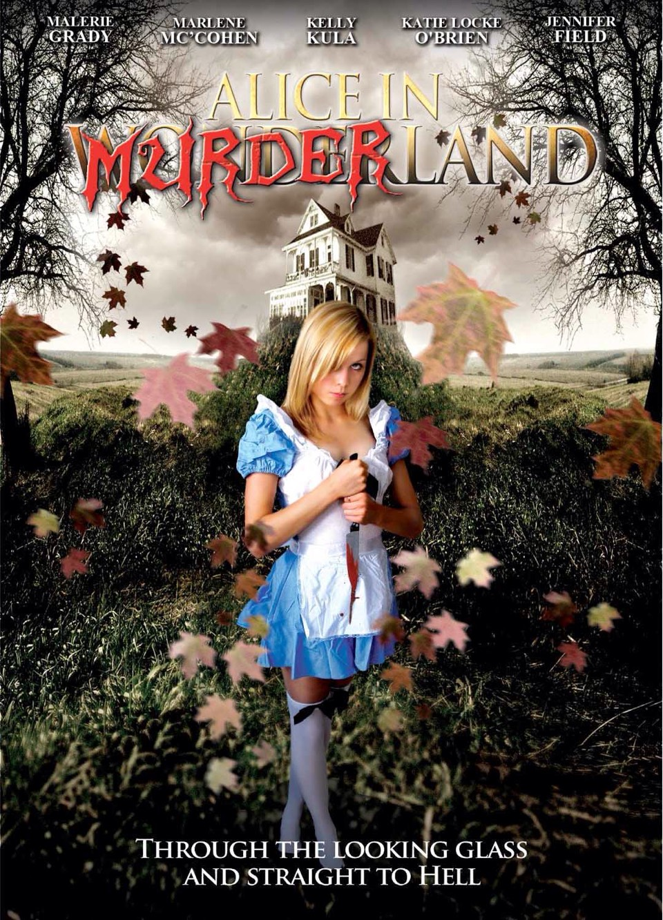 4.) Alice in murderland. This is one of my favorite B+ scary movies. It looks like they used a old video camera and bad acting.