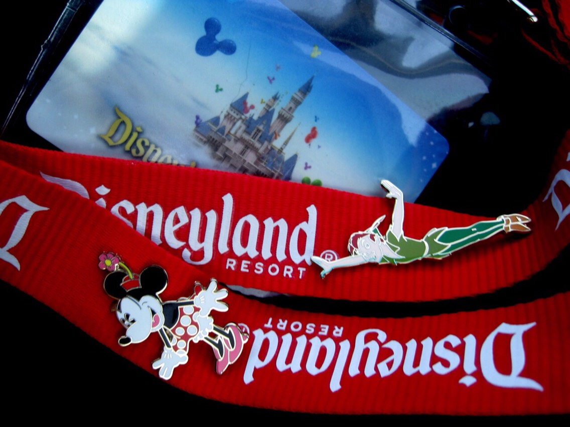 A LANYARD:  Lanyards are so handy in theme parks! They can hold your tickets, passes, and even money! If carrying it around your neck isn't stylish for you, lace it through your belt loops or put it in your purse.