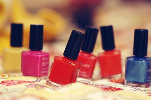 Let's combine 2 things all of us girls LOVE.... Nail Polish, AND....