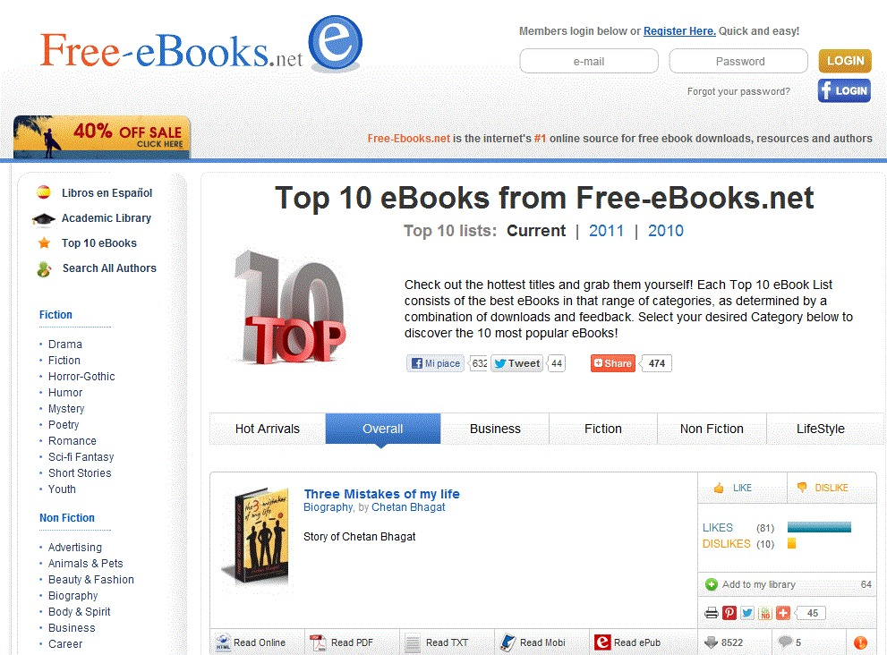 Check out www.free-ebooks.net/