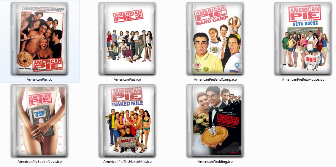 The best movies to just watch when you feel like watching a movie and something for a good laugh - American pie series is where to go. 😊