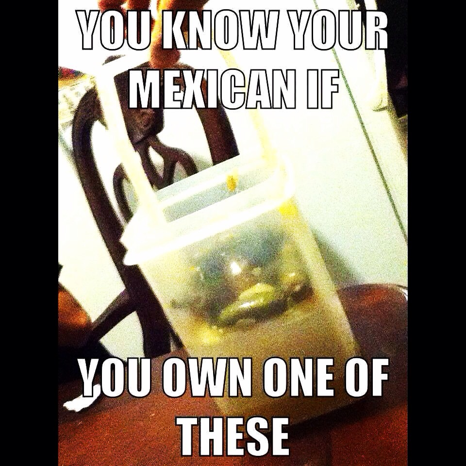 Lol not just Mexicans own them, they are for everyone that likes to save money and love to eat Jalapeños, olives, pickles, and even canned fruit. Shop at www.my2.tupperware.com/nancyserrano