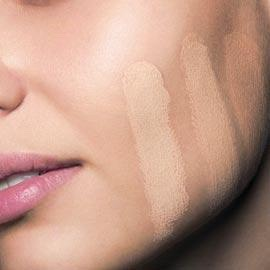 When trying foundation DO NOT test it on your face! Test it on your neck, that way your face will match your neck