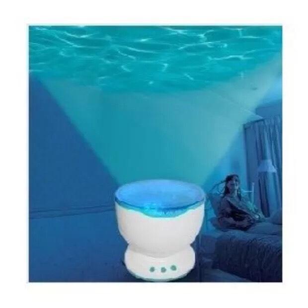 $16.99 DUSIEC Chromatic Ocean Waves Projector