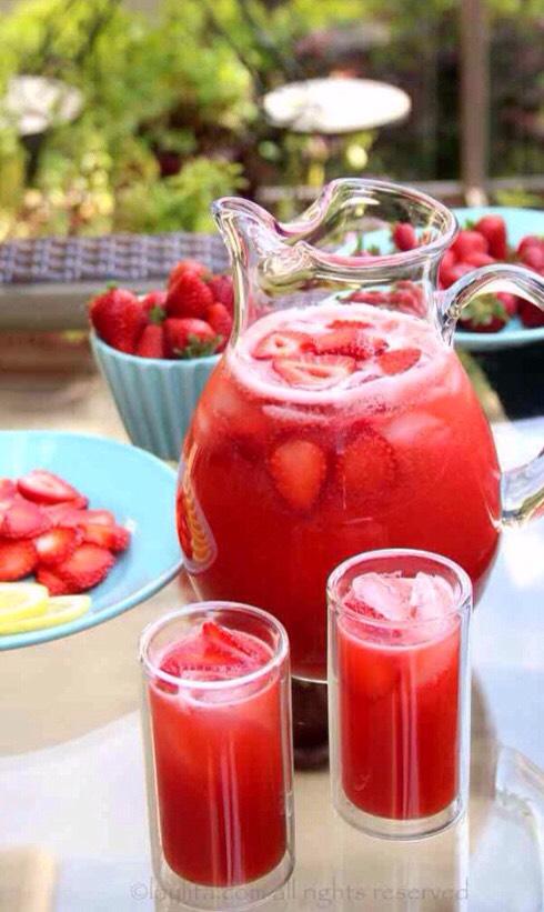 Strawberry Lemonade 🍓🍋