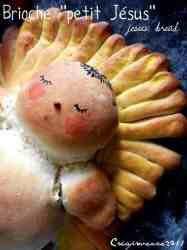 Baby Jesus bread