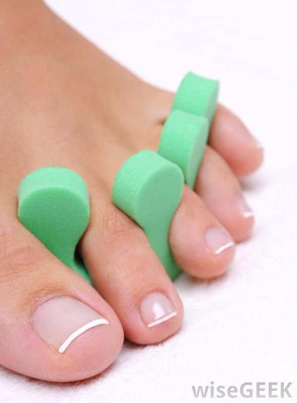 Treat yourself to a pedicure and try out these various toe separators!!