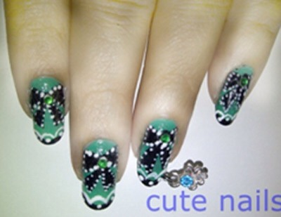 You can free hand them using acrylic colors.