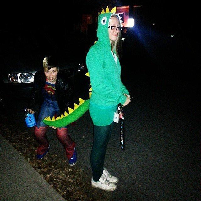 Dinosaur Hat Dinosaur Hat ($1)  Costumes: Elton John, '70s hippiesCostume: T-rex