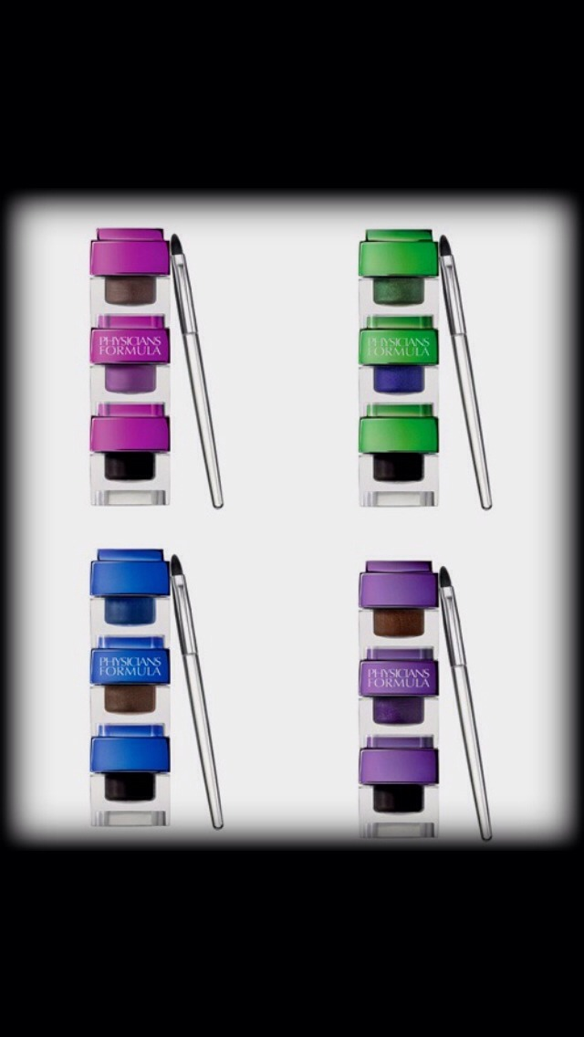 These are liquid eyeliners that are also in the Custom Eye Enhancing Collection. They aren't as vibrant as the Kohl Kaja Eyeliners (in the following photos), but are great for a dramatic look! 😃