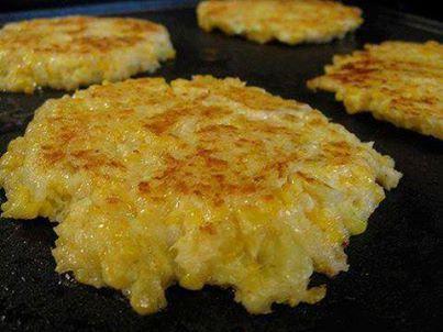 Cheesy Cauliflower Patties = YUM YUM!