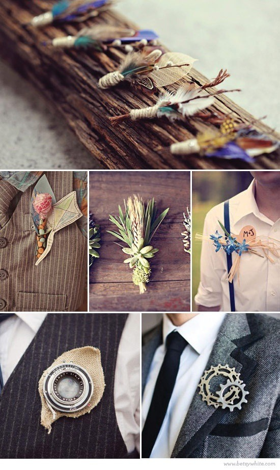 Indie pins for men on your special day homemade custom diy