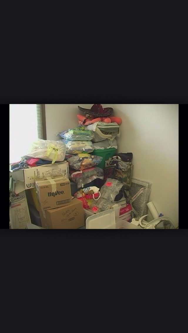 Don't hoard! Throw away things you know you will never need. Don't let silly things clutter up your home