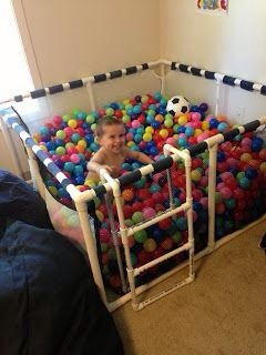Considering my kids probably won't ever get into a public ball pit, this is fantastic! 😃👍
