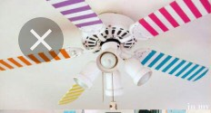 Diy Your Fan W/ Washi Tape❤️😃  What you need: Any kind of decorated tape