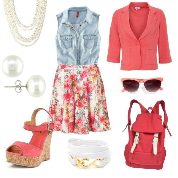 you can wear this stylish outfit with many different accessories