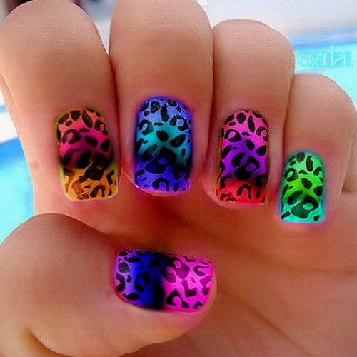 One of my favs to do in the summer I love neon