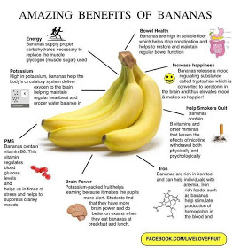 health benefits of bananas !! must read :) please like and follow me ♥♡