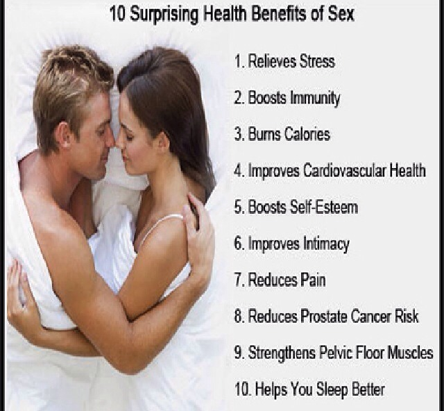 The health benefits of sexual expression