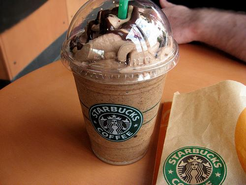 Double Chocolate Cream Frappuccino  The Secret:	 1) Mocha or Coffee Frappuccino 2) 1-2 Pumps Chocolate Syrup 3) Chocolate Flavouring  How to Order:	Show the barista this secret recipe for the Double Chocolate Cream Frap.