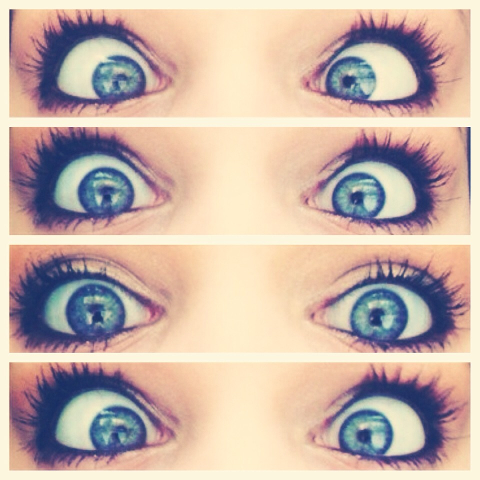 {these are my real eyes}👀