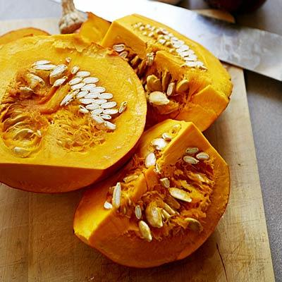 Tasty treat  It's a shame that pumpkin is only popular for two months out of the year.  This low-calorie squash is rich in potassium and loaded with beta-carotene (a powerful antioxidant), and its natural sweetness brings flavor to baked goods without any added guilt.