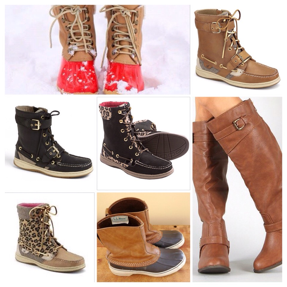 🎀Duck boots, sperry boots and riding boots🎀