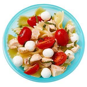 Pasta salad  Roasted broccoli  Berry and vanilla yogurt  Start to Finish10 mins