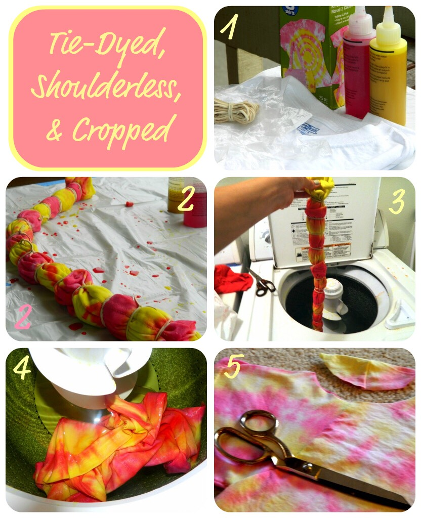 3. Twist on the classic tie dye