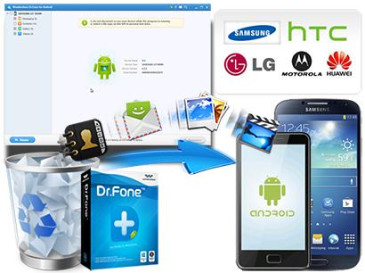 Android Data Recovery Tool  Android Data Recovery tool is superior utility, that's particularly designed to recover Deleted/Lost Data from Samsung Galaxy J2/J3/J5/J7. No matter what are reasons behind data loss, this tool is competent of retrieving any lost, deleted file.