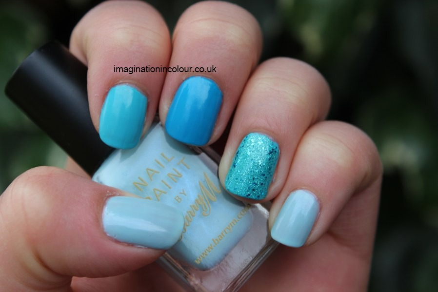 Then chose a nail polish that you like and that you want the colour of your nails to be, and they will look much bolder and brighter!