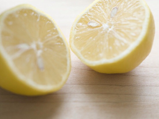 Lemon juice   Use real lemon juice opposed to the artificial kind out of a bottle . For best result mix with water in a spray bottle , add water to insure no damage is done to your hair . Spray your hair each time after the shower and leave in , the longer it is in your hair the better :)