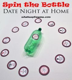 Spin the bottle to see where your date will be