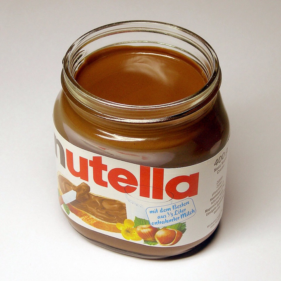 Take a spoonful of Nutella mix it with milk, then microwave it till all of the Nutella is melted.
