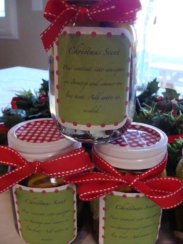 Potpourri in a jar