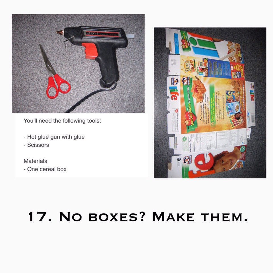 18. Don't have gift tags? Use a playing card.  Everyone has cards somewhere in their house, & the DIY factor will look intentional, rather than lazy.