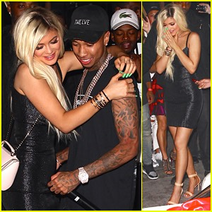 Kylie's reaction to Tygas gift